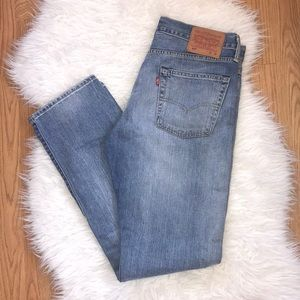 Levi's 513 denim jeans